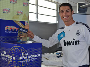 Real Madrid-spillere stemmer til FIFA FIFPro World XI