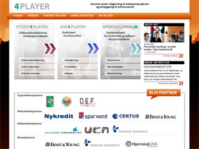 Nye 4player-sites - Nu med CV-database og step-by-step rådgivning